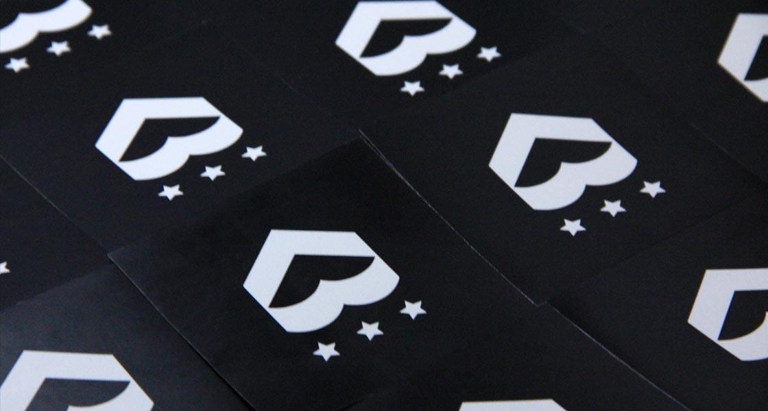 Love Army Identity Design Stickers