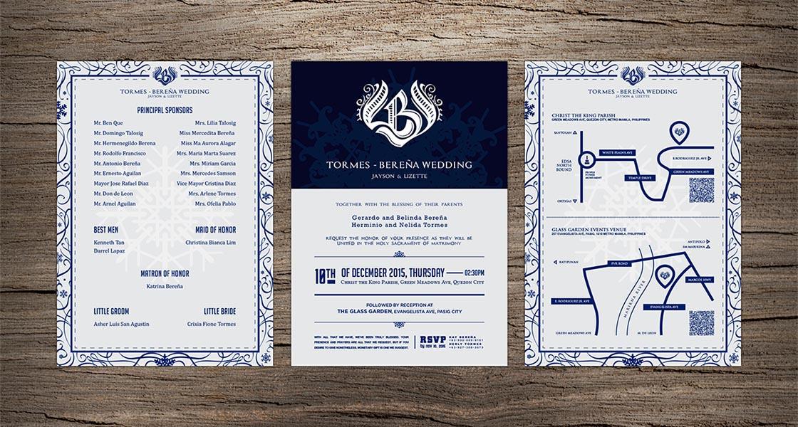 LBJ Wedding Invite
