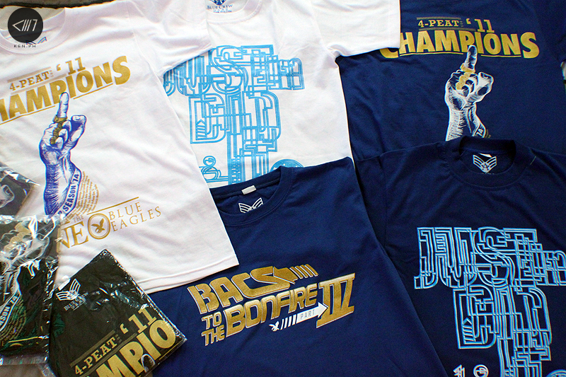 Ateneo Shirt Designs by KEN.ph c/o the Blue Crew Life