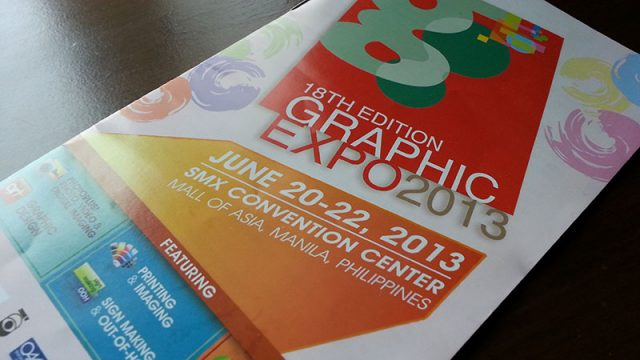 18th Graphic Expo 2013 @ the SMX